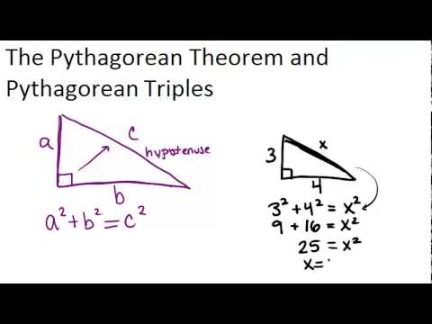 The Pythagorean Theorem  Read   Geometry  Ck Foundation