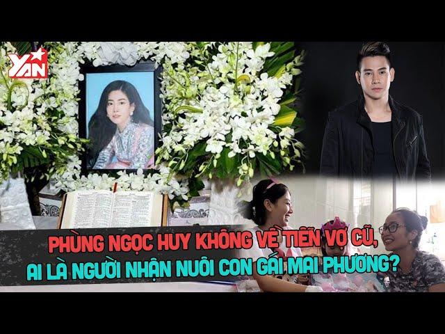 Phùng Ngọc Huy không về tiễn vợ cũ, ai là người nhận nuôi con gái Mai Phương?
