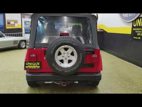 Video of 2005 Jeep Wrangler Rocky Mountain Edition 4x4 located in Mankato Minnesota Offered by Unique Specialty And Classics - MGQV