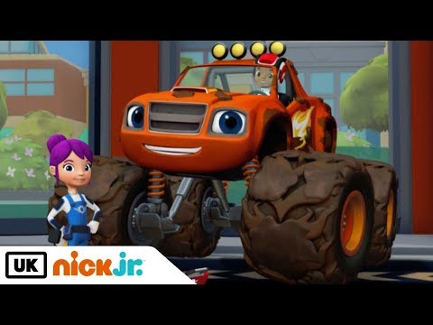 Blaze and the Monster Machines   Trouble at the Truck Wash   Nick Jr. UK