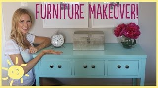 DIY | Furniture Makeover (Easy How To!!)