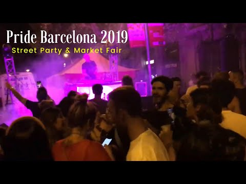 Pride Barcelona 2019: LGBTI Party & Commercial Fair