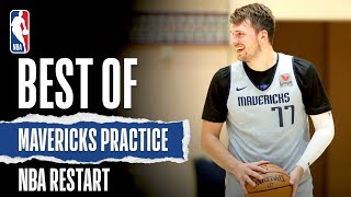 Best Of Mavericks Practice | NBA Restart