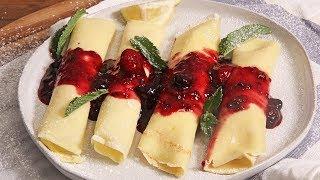 Berries & Cream Crepes