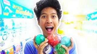 Japanese Toy Capsules!!! JAPAN TOYS! Vending Machine Toys