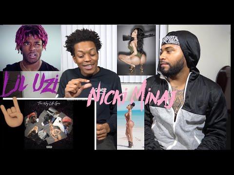 Lil Uzi Vert - The Way Life Goes Remix (Feat. Nicki Minaj) [Official Audio]   FVO Reaction