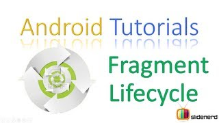 #102 Android Fragment Lifecycle Part 1: Android Application Development Tutorial [HD 1080p]