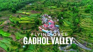 Flying over Gadhol valley    cinematic FPV    Song - Mai ni meriye Mohit chauhan