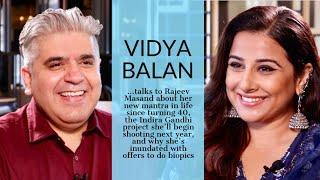 Vidya Balan interview with Rajeev Masand