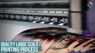 Quality Large scale printing process