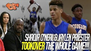 Super Efficient Duo SHAQIR O'NEAL & JAYLEN PRIESTER filled up the stat sheet with CRAZY NUMBERS