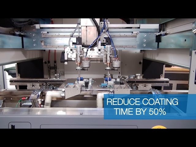 Reduce Conformal Coating Process Time by 50%
