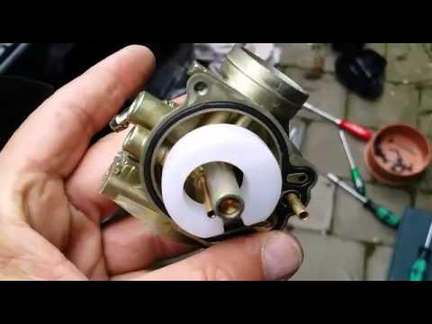 Wie das Benzin mit dem Öl für trimmera von der Spritze zu trennen