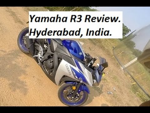 A Simple Review of Yamaha R3. India, Hyderabad.