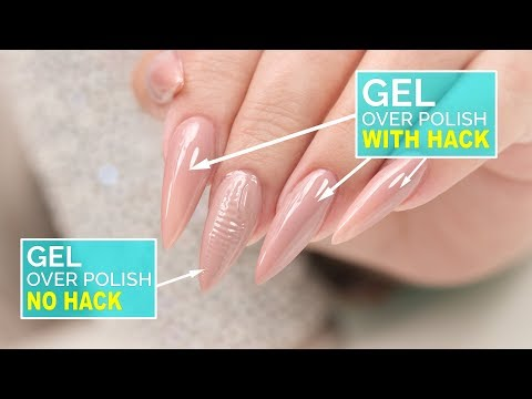 How To: Gel Over Polish - No Wrinkles!