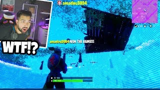 HE'S HACKING *INVISIBLE GLITCH* in Fortnite: Battle Royale