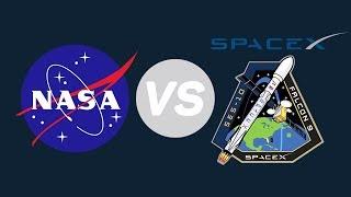 NASA против SpaceX – в чем разница? [Plushkin]