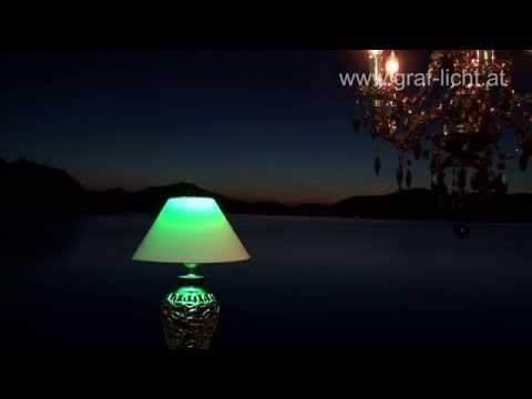 RGBW LED Lampen GU 10 und E27 von www.graf-licht.at