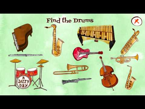 A Jazzy Day – Music Education Book for Kids – Best App For Kids – iPhone/iPad/iPod Touch