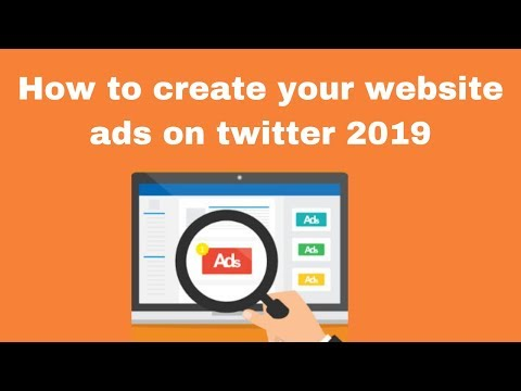 How to create your website ads on twitter 2019