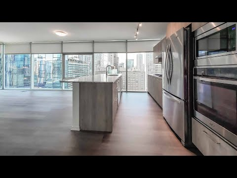 A -12 2-bedroom, 2-bath at Streeterville's Optima Signature apartments