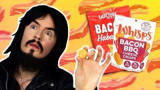 Irish People Try American Bacon Snacks