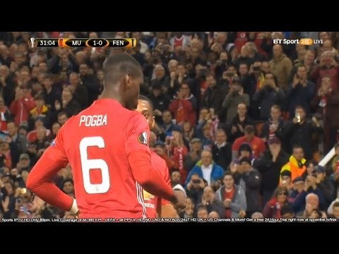 Paul Pogba vs Fenerbahce l Manchester United vs Fenerbahce 4-1 All Pogba Goals And Highlights 720pHD