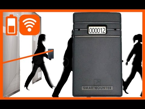 People/visitor counter for $90. Wireless, door counter for retail store. Smart Counter Lite S