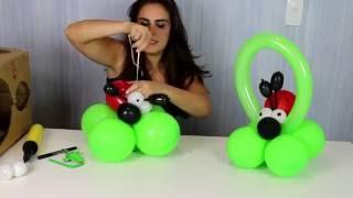 Neste vídeo você aprende passo a passo como fazer um centro de mesa em balões de joaninha. Para festa no tema jardim ou joaninhas. Um enfeite de mesa fácil e lindo!!!! www.amofestas.com www.facebook.com/amofestas