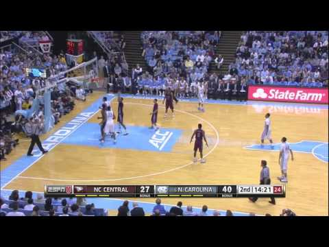 Video: UNC Basketball Highlights vs. NC Central