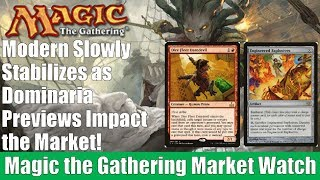MTG Market Watch: Dominaria Previews Impact the Market and Modern Prices Begins to Settle Down