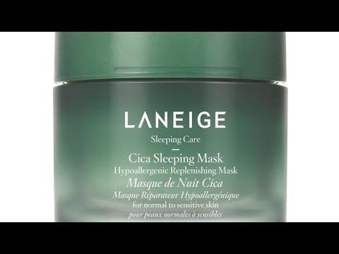 Hypoallergenic Cica Sleeping Mask by Laneige #5