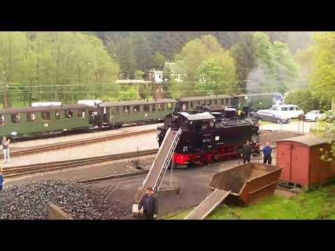 Jöhstadt 2018 Pressnitztalbahn 50 Jahre LGB 001