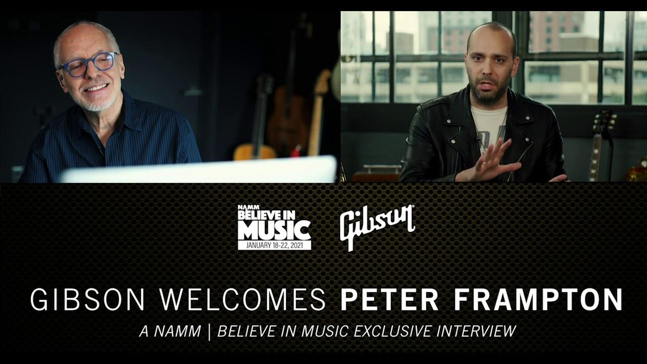 NAMM 2021: Gibson Welcomes Peter Frampton