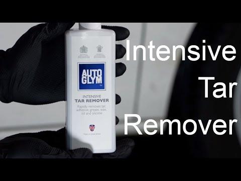 Autoglym Intensive tar remover 325 ml - film på YouTube