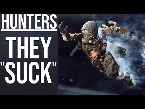 Hunters Kind of Suck in Destiny 2: My Thoughts