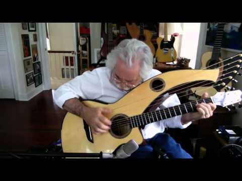 , title : 'Rohan Theme - Stephen Bennett on harp guitar'