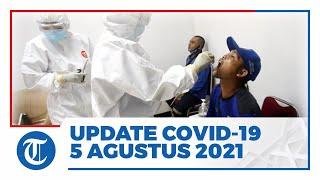 Update Covid-19 di Indonesia 5 Agustus 2021: Tambah 35.764 Positif, 39.726 Sembuh, 1.739 Meninggal