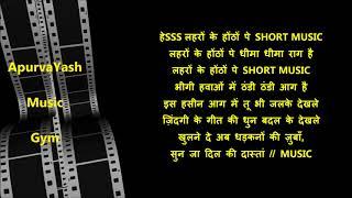 Ye Raat Ye Chandni Phir Kahan Karaoke Lyrics   - YouTube