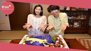 ユースケ「このドラマで引退」ナス誕生ケーキに感激-ドラマ:日刊スポーツ