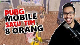 SATU TIM 8 ORANG - PUBG MOBILE INDONESIA