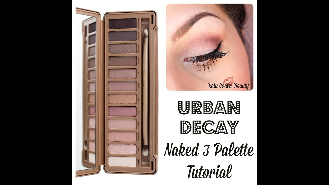 Romantic Pink Eyes: Urban Decay Naked 3 Palette Tutorial