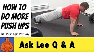 How To Do 50 Pushups in a Row - Push Up Workout Tips