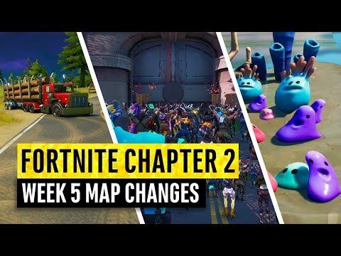Fortnite | All Chapter 2 Map Updates and Hidden Secrets! WEEK 5