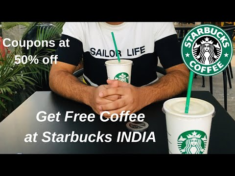 Download Get 50% off at Starbucks Coffee INDIA 🇮🇳 || Get a Free Starbucks Beverage on Birthday in Hindi Mp4 HD Video and MP3