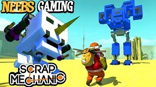 Scrap Mechanic - BattleMechs!