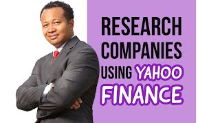 How to Evaluate a Company Quickly Using Yahoo Finance