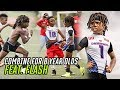 This 8 Year Old Football Combine Was INSANE Flash Balls Out Female Lineman DOMINATES The Boys