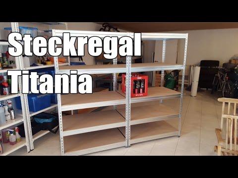 Steckregal Titania Kellerregal von RD Lagerdiscount - Autopflege Aufbewahrung