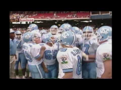 Video: 1993 UNC vs USC Highlights